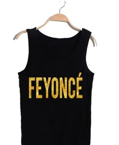 Unisex Tank top men women Feyonce design
