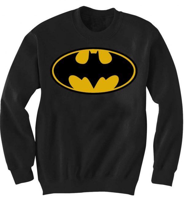Unisex Crewneck Sweatshirts batman logo design