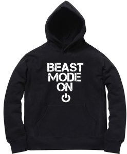 Unisex Premium Hoodies beast mode design