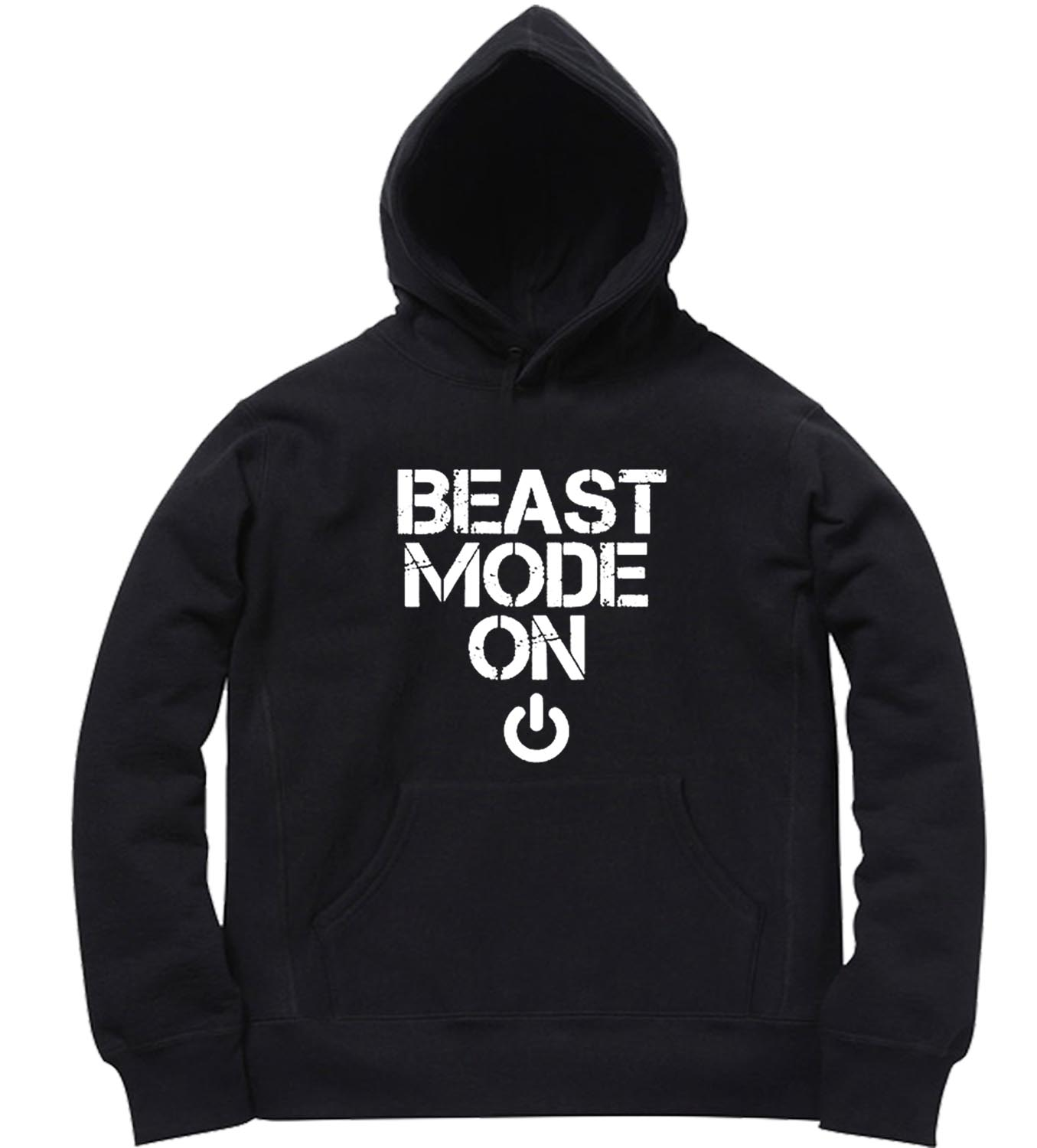 unisex premium hoodies beast mode design