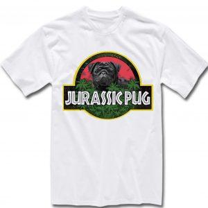 Unisex Premium Tshirt jurrasic pug design