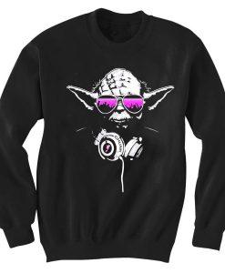 Crewneck Sweatshirts yoda beats design