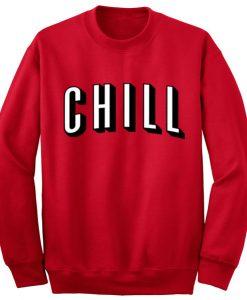 Unisex Crewneck Sweatshirts Chill Design