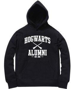 Unisex Premium Hoodies Hogwarts Alumni Design