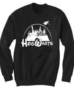 Unisex Crewneck Sweatshirts Hogwarts Disney Design