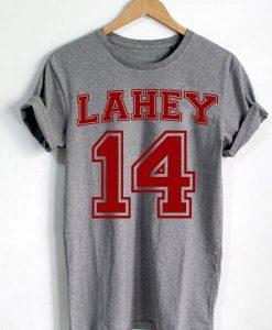 Unisex Premium Tshirt Lahey 14 Beacon Hills Lacrosse Teen Wolf