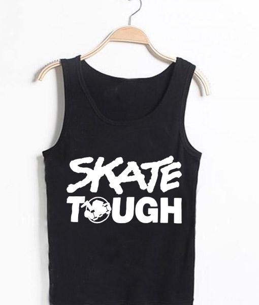 Unisex Tank top men women Louis Tomlinson Skate Tough Design
