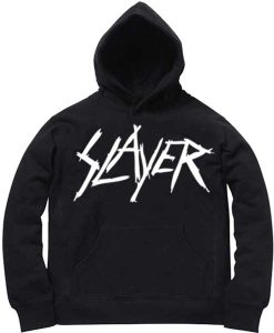 Unisex Premium Hoodies Slayer Logo Design