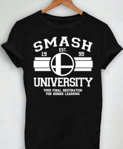 Unisex Premium Tshirt Smash University Established 1999 Design