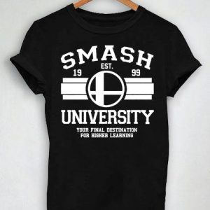 Unisex Premium Tshirt Smash University Established 1999 Design