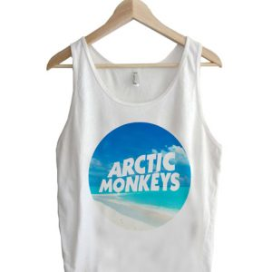 Unisex Tank top men women Arctic Monkeys Logo Design