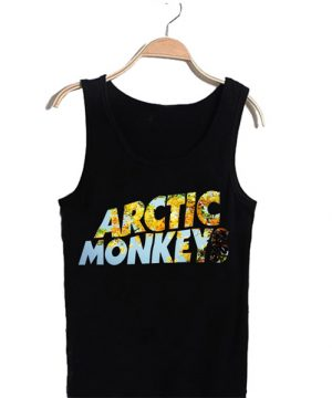 Unisex Tank top men women Arctic Monkeys Design