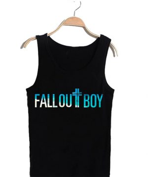 Unisex Tank top men women Fall Out Boy Design
