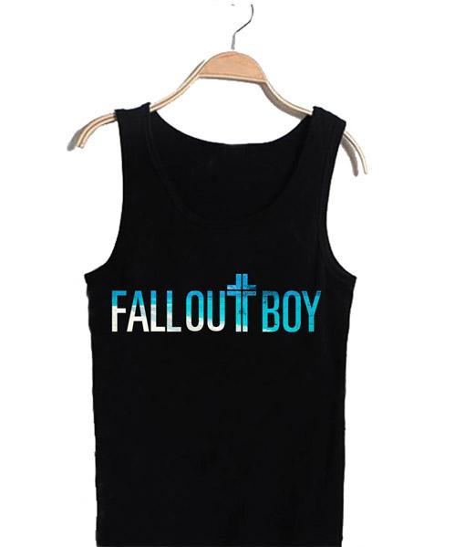 Unisex Tank top men women Fall Out Boy Design