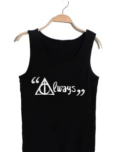 Unisex Tank top men women Harry Potter always design