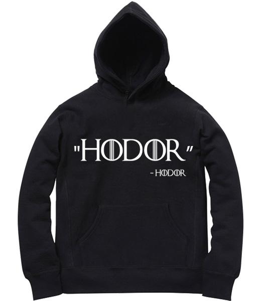 Unisex Premium Hoodies Hodor said Hodor Design