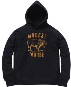 Unisex Premium Hoodies modest mouse design