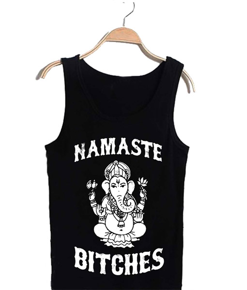 Unisex Tank top men women Namaste Design