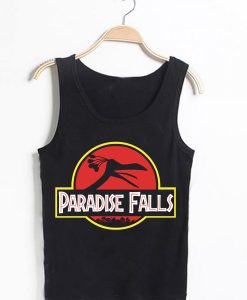 Unisex Tank top men women Paradise Falls