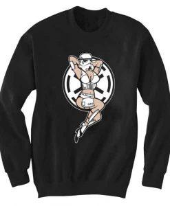 Unisex Crewneck Sweatshirts Stormtrooper Sexy