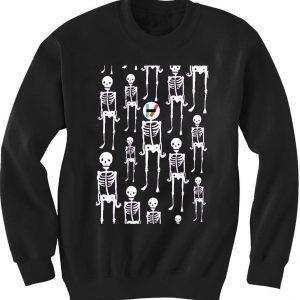 Unisex Crewneck Sweatshirts 21 Plots Skull Funny