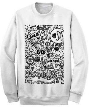 Unisex Crewneck Sweatshirts 5 Seconds of Summer Funny