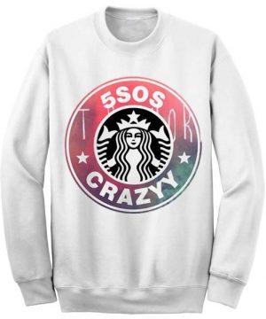 Unisex Crewneck Sweatshirts 5SOS Funny Logo