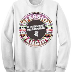 Unisex Crewneck Sweatshirts 5Sos Fangirl