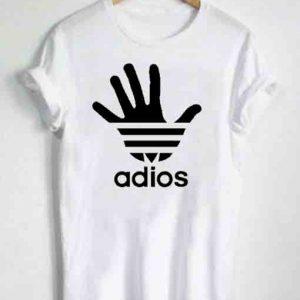 Unisex Premium Adios Tshirt T-shirt Quote