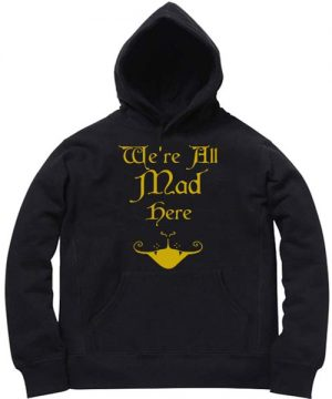 Unisex Premium Hoodies Alice in Wonderland Design