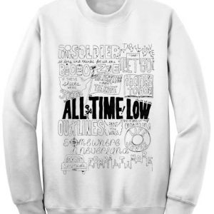 Unisex Crewneck Sweatshirts All Time Low