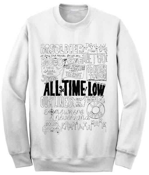 Unisex Crewneck Sweatshirts All Time Low
