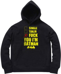 Unisex Premium Batman Fuck Batman Hoodie Quotes