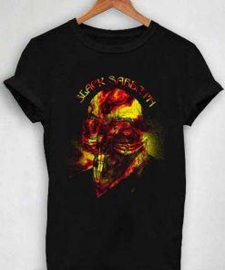 Unisex Premium Black Sabbath Flower Tshirt T-shirt