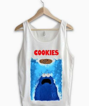 Unisex Tank top men women Cookies design