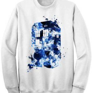 Unisex Crewneck Dr Who Tardis Sweatshirts