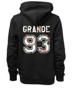 Unisex Premium Ariana Grande 93 Hoodie Logo