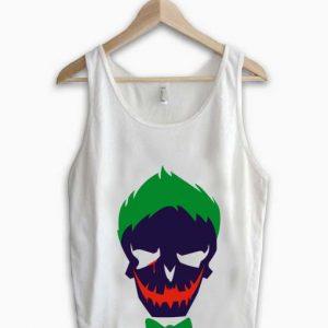 Unisex Men Women Joker Tanktop Tank Top Logo