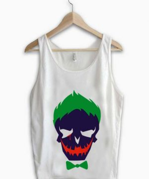 Unisex Men Women Joker Tanktop Tank Top Logo