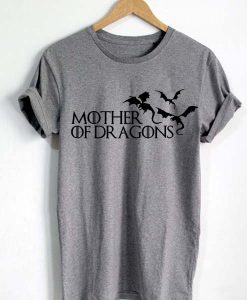 Unisex Premium Mother Of Dragons Tshirt T-Shirt Quotes