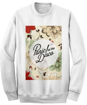 unisex crewneck sweatshirts panic at the disco