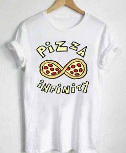 Unisex Premium Pizza Infinity Tshirt T-shirt