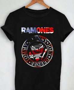 Unisex Premium Ramones Tshirt T-shirt Logo