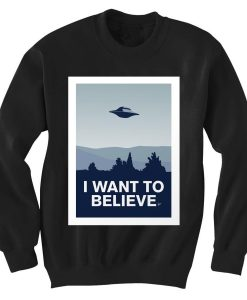 Unisex Crewneck X Files Sweatshirts