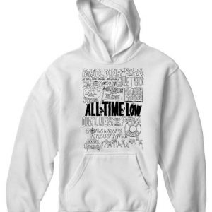 Unisex Premium Hoodies All Time Low Design
