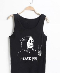 Unisex Men Women Ashton Irwin Peace Out Tanktop Tank Top