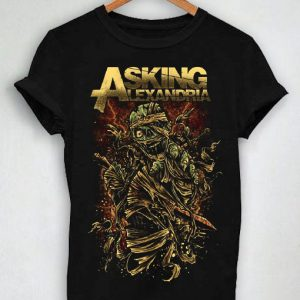 Unisex Premium Asking Alexandria Tshirt T-shirt