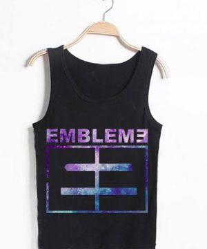 Unisex Men Women Emblem 3 Tanktop Tank Top Logo
