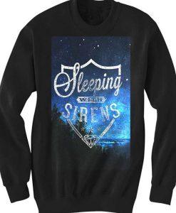 Unisex Crewneck Sweatshirts Sleeping With Sirens Logo