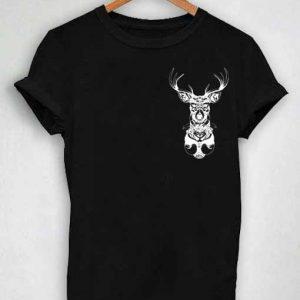 Unisex Premium Mandala Deer Tshirt T-shirt